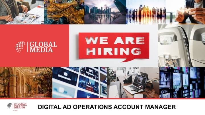 Global Media looking for an Ad Operations Account Manager